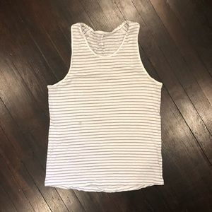⚡️4 for $30 - Men's Lululemon 5 Year Striped Tank